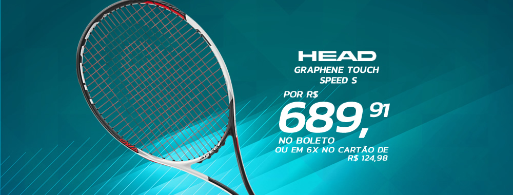 Raquete de Tênis Head Graphene Touch Speed S
