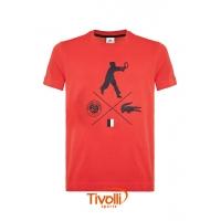 390e576bada18 Camiseta Lacoste. Roland Garros Masculino Vermelho