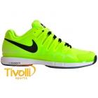 40d7525f03bb1 Tênis Nike Zoom Vapor 9.5 Tour Limão e Preto - Roger Federer. Código   631458-701