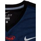 8aad4e0353 Camiseta Nike Challenger Premier Rafa Crew Verde Água e Preta - Rafael Nadal.  Código  646097 437