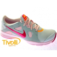 69d83fa6cea Tênis Nike In-Season TR 3. Branco Rosa Cinza ...