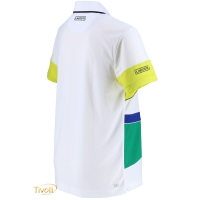4aa76416a6 Raquete Mania   Camisa Polo Lacoste Sport   Branca
