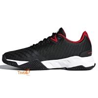 Raquete Mania   Tênis Adidas Barricade Court 3   Preto 5e9d29ede369c