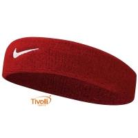 Testeira Nike Swoosh. Unissex Vermelha 2c9214f0058