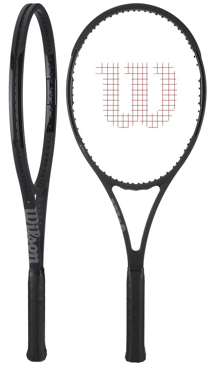 792499e8f9b Raquete Mania   Raquete de Tênis Wilson   Pro Staff 97 LS Black New