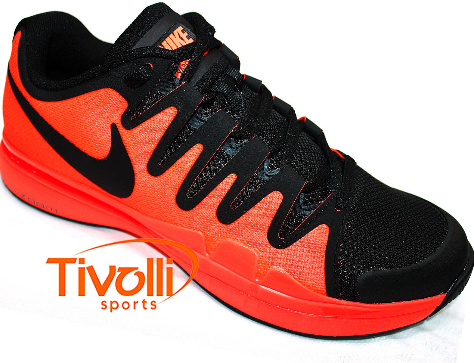 2f3f907e1cca7 Raquete Mania   Tênis Nike   Zoom Vapor 9.5 Tour Coral e Preto US ...