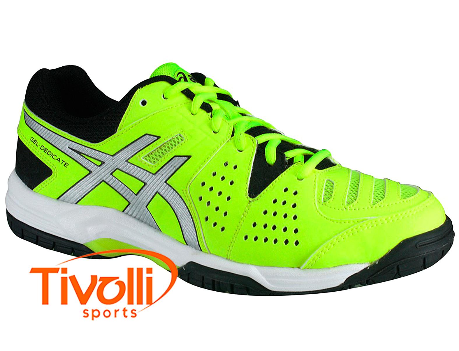 Apropiado chasquido monitor  Raquete Mania > Tênis Asics > Gel Dedicate 4 Verde Limão