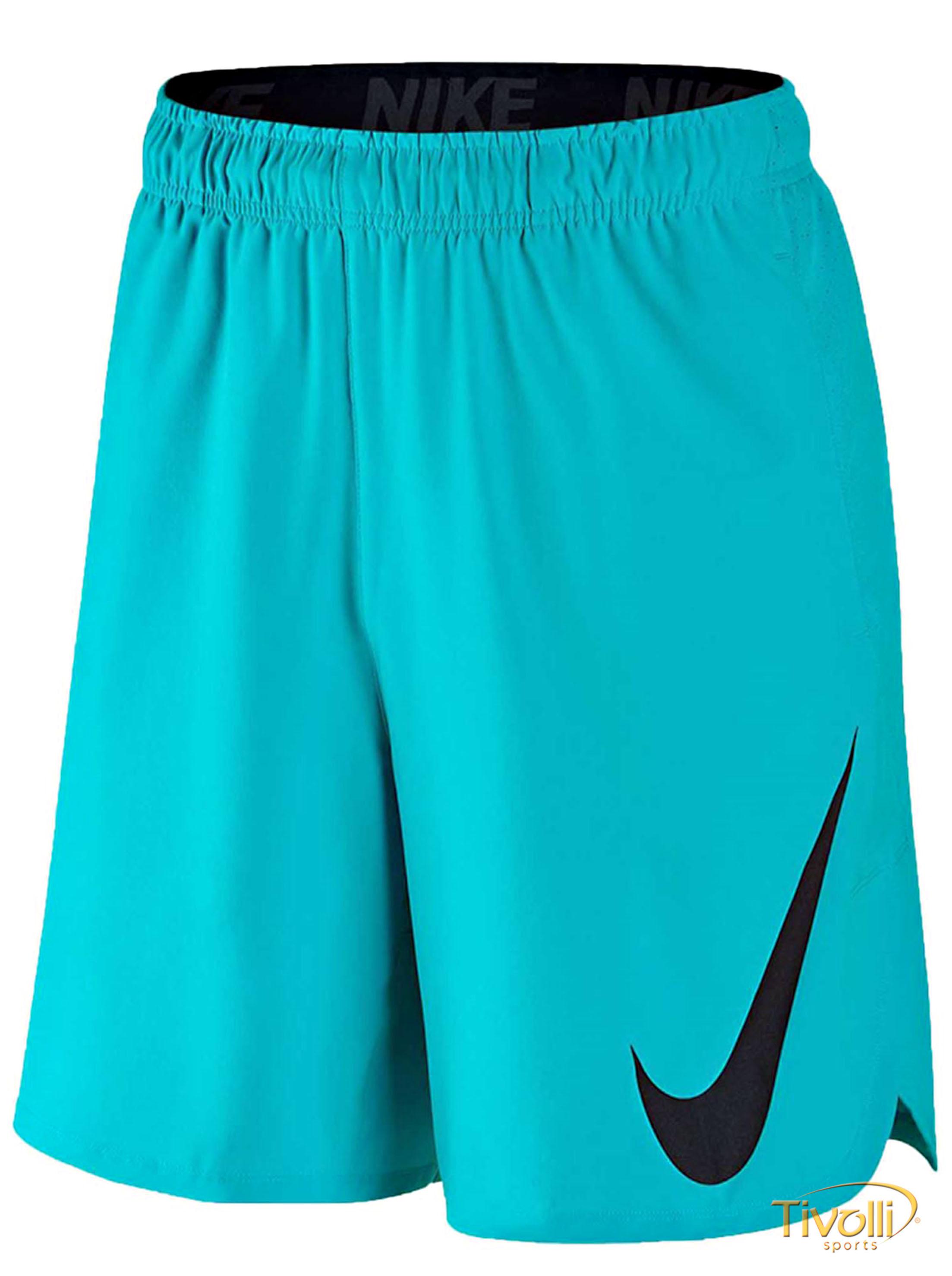 522ad5c4c Raquete Mania   Shorts Nike Hiperspeed Woven 8   Masculino Azul ...