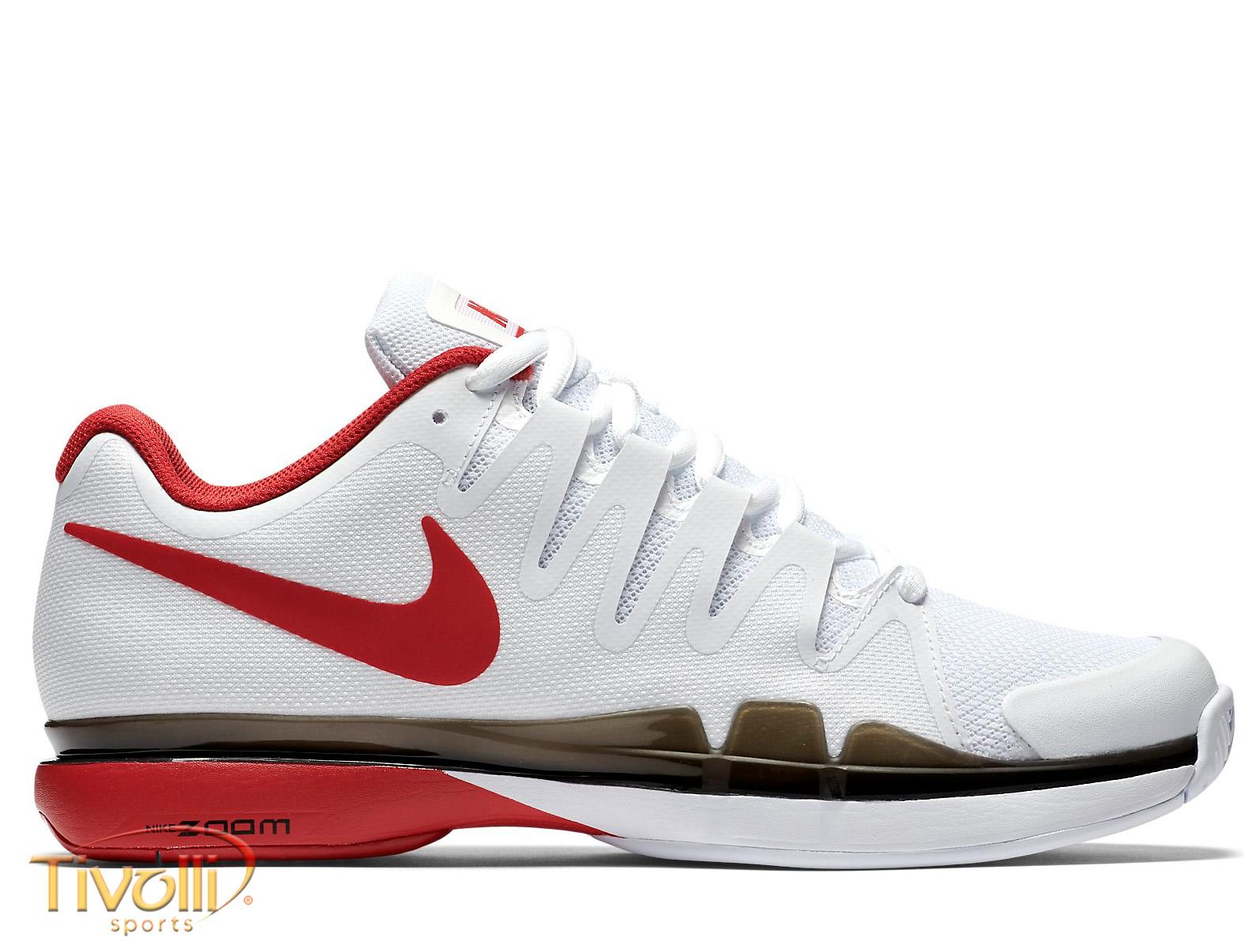 ca8af675b12 Tênis Nike Zoom Vapor 9.5 Tour Branco e Vermelho. Código  631458 160. De  R   599 ...