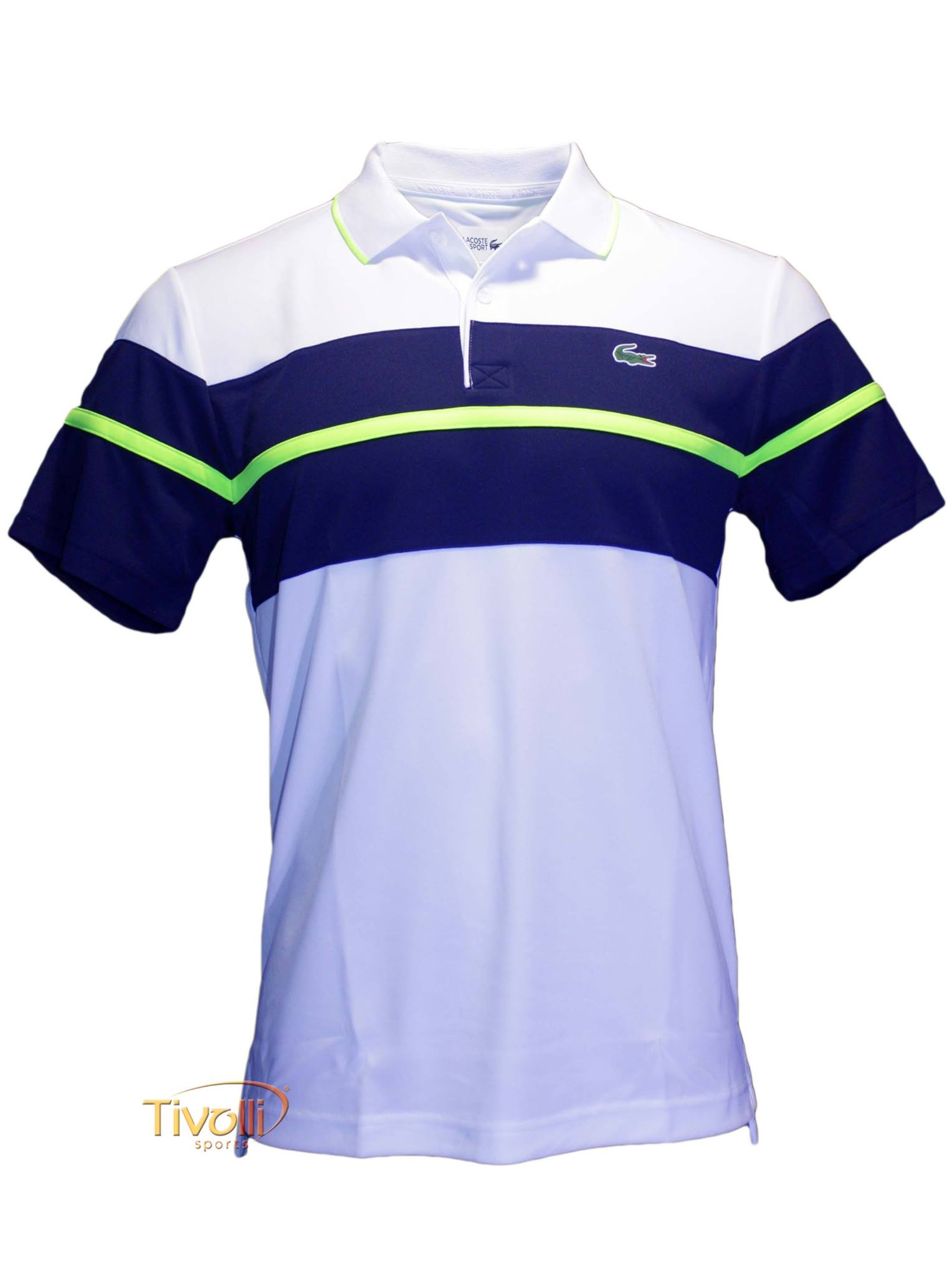 04318d1fc3 Raquete Mania   Camisa Polo Lacoste Sport Ultra Dry   Masculina ...