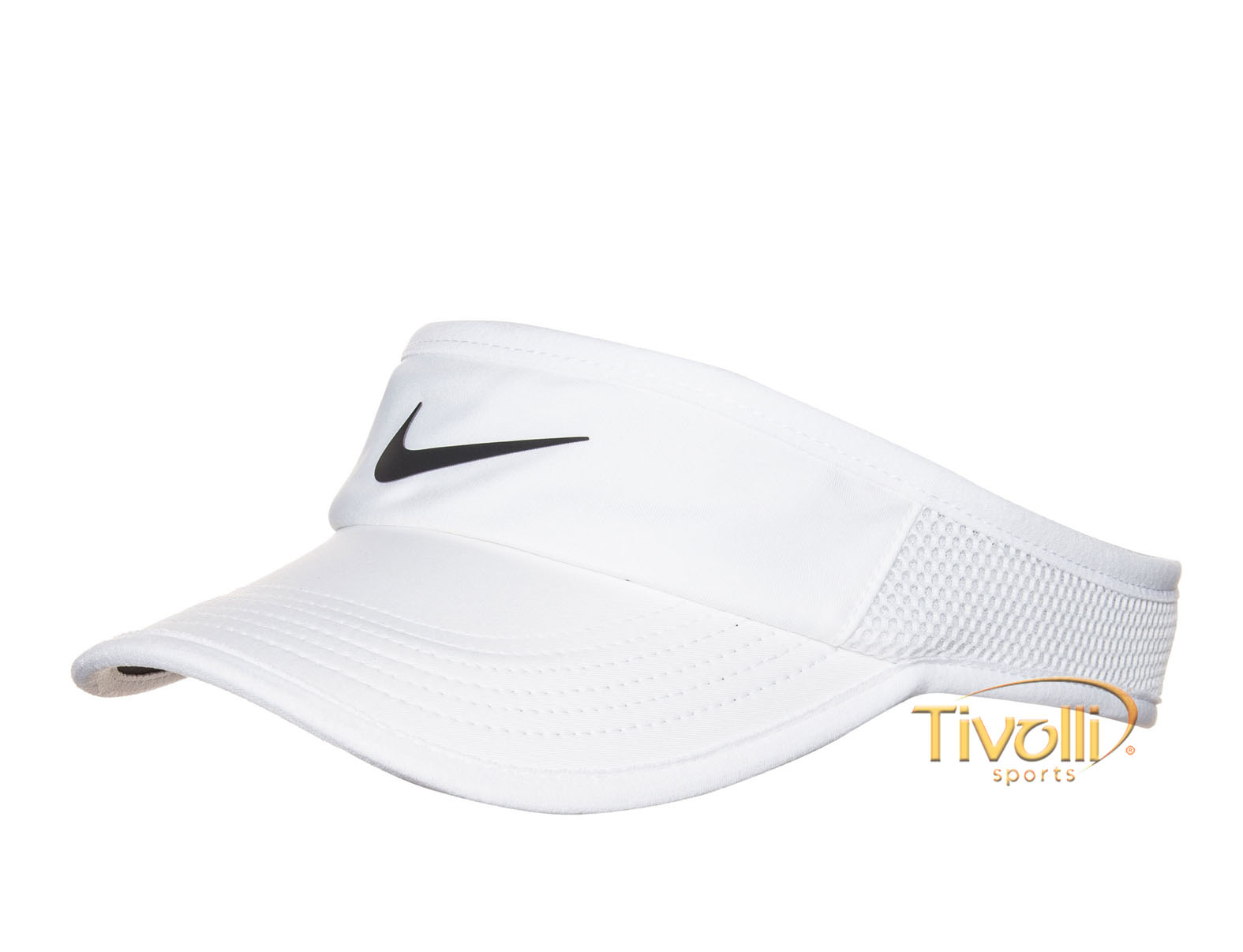 Raquete Mania   Viseira Nike   Featherlight Branca 2e235665950