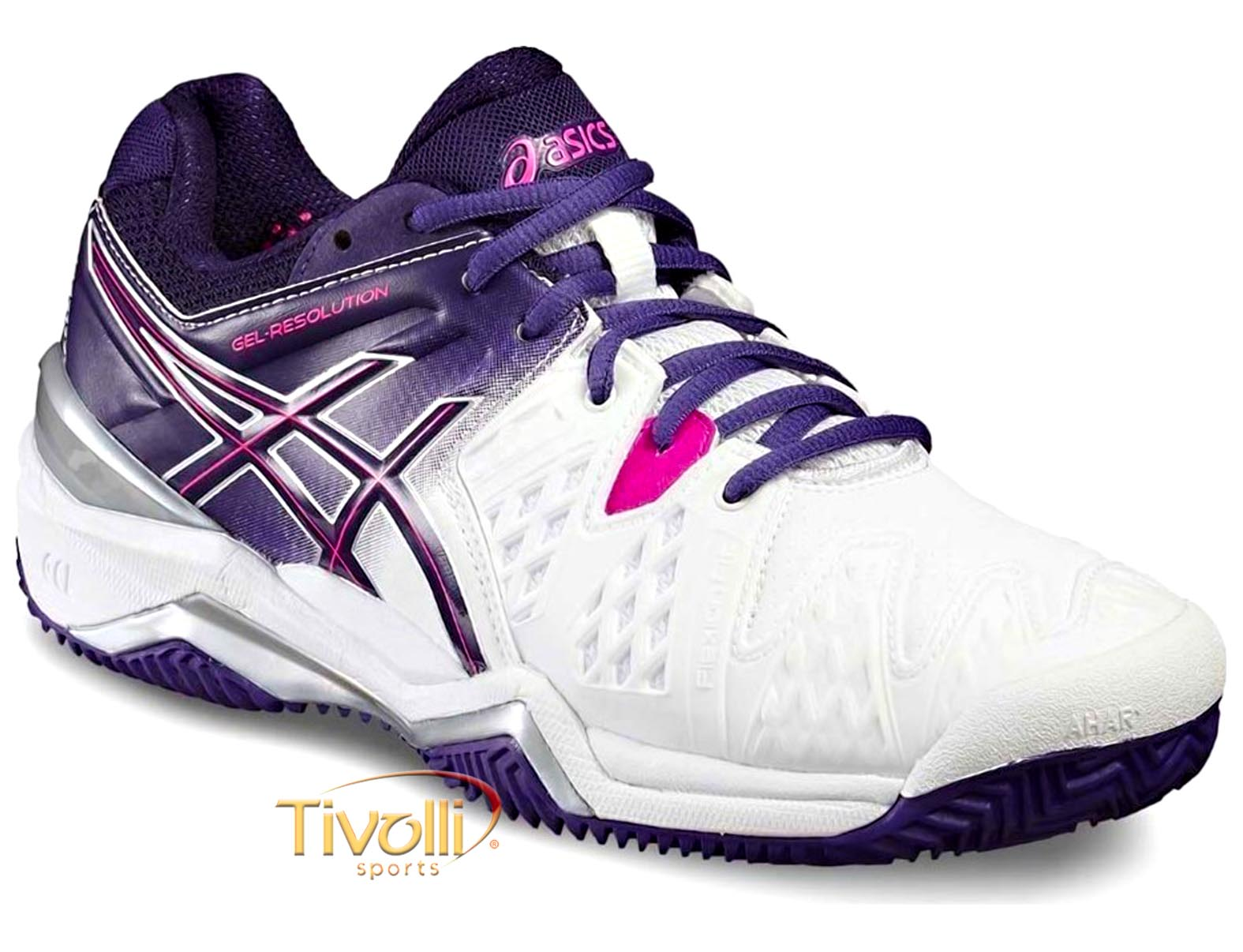 56a32bb84b Raquete Mania   Mega Saldão - Tênis Asics   Gel Resolution 6 Clay ...