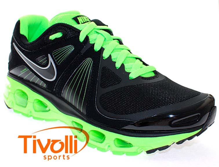 quality design 1ca0e 12e5e Tênis Nike Air Max Tailwind+ 4 Preto e Verde 453976-013