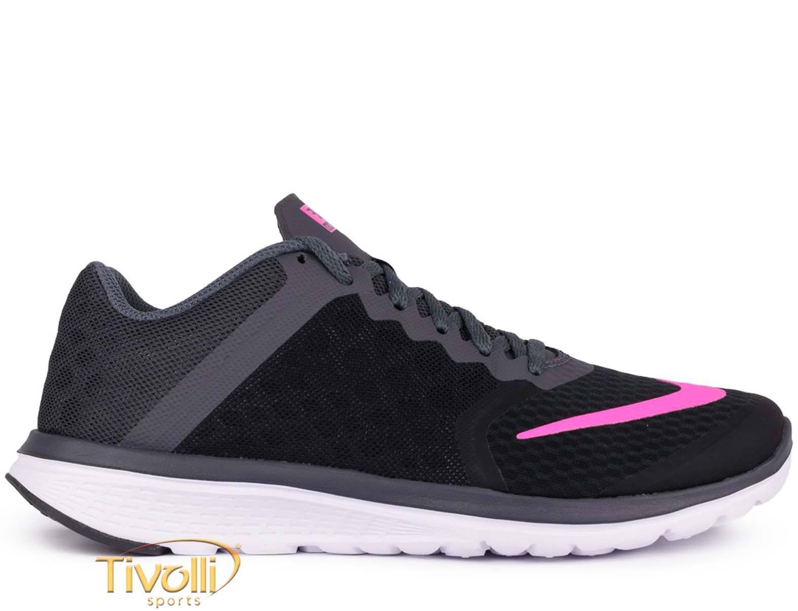 6858619f142 Raquete Mania   Tênis Nike FS Lite Run 3 Feminino   Preto