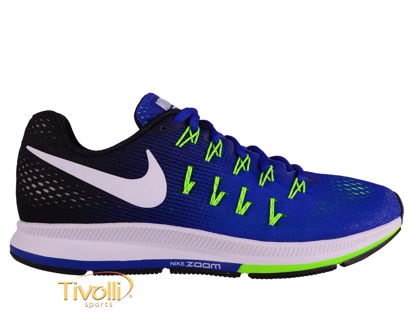 c602221764474 Raquete Mania   Tênis Nike Air Zoom Pegasus 33 masculino   azul ...
