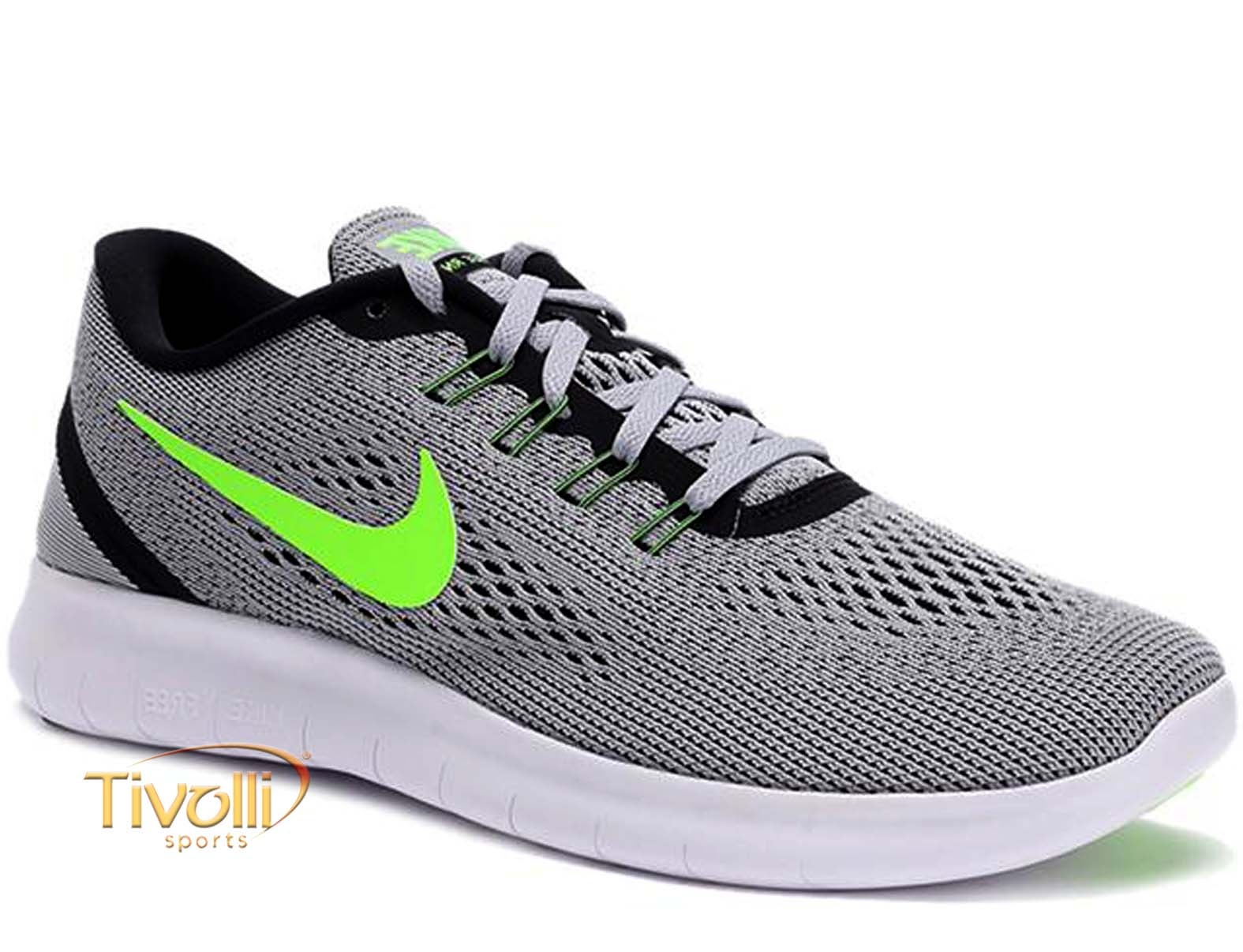 30726c714e6 Raquete Mania   Tênis Nike Free RN   Cinza Prata