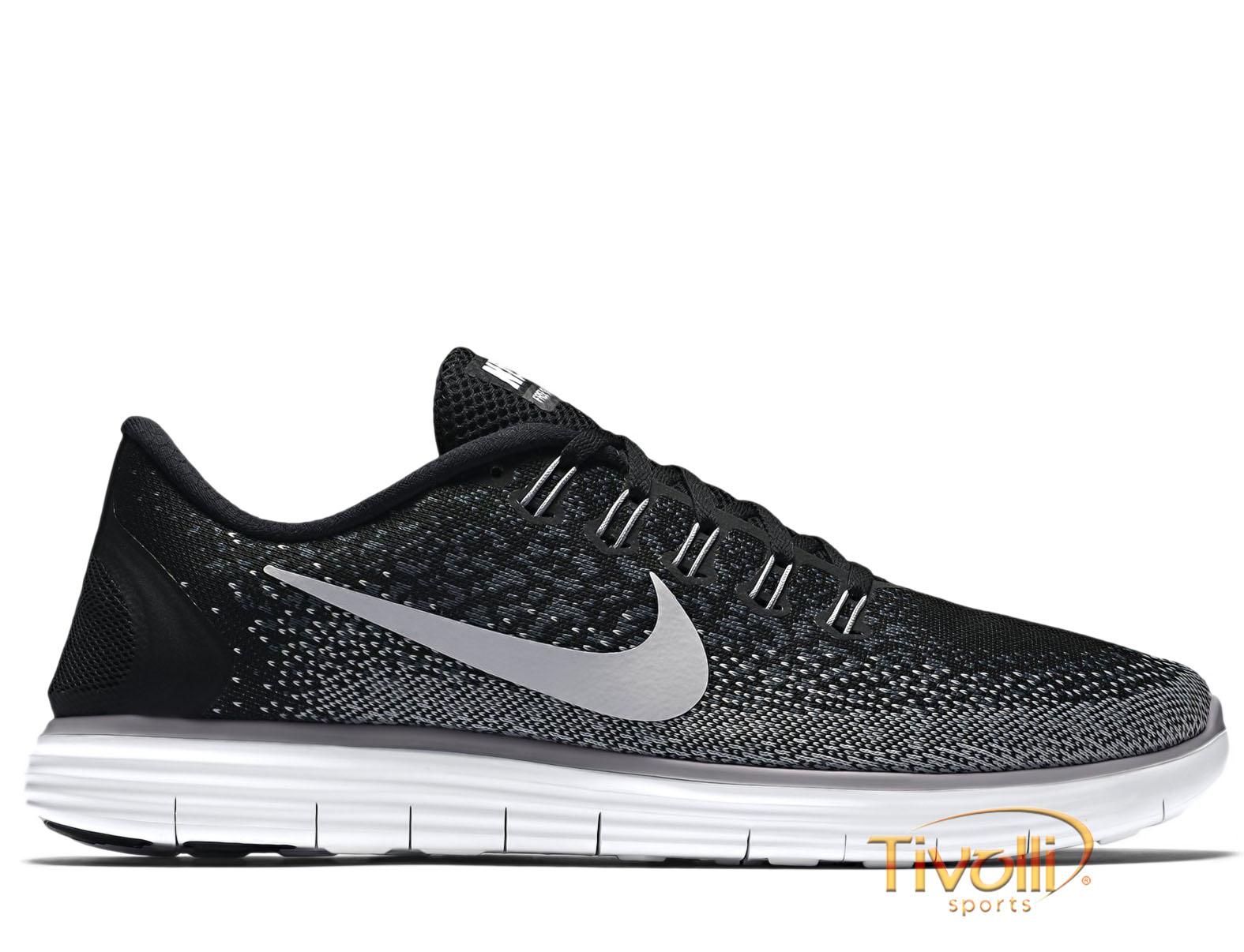 033e647d4cf Raquete Mania   Tênis Nike Free Run RN Distance   Masculino Preto ...