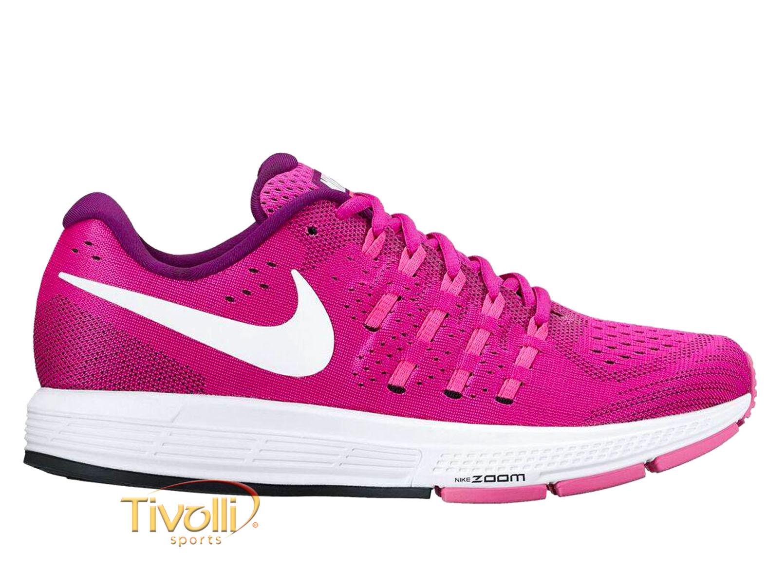 bfa5bf074251c Raquete Mania   Tênis Nike Air Zoom Vomero 11   Rosa Roxo