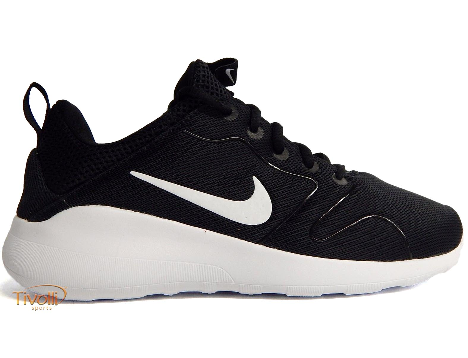 58424a7549 Raquete Mania   Tênis Nike Kaishi 2.0   preto e branco