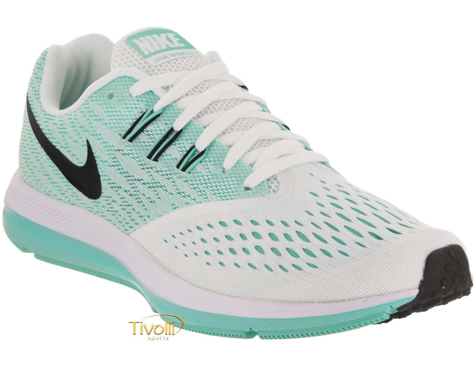 5bc2b55dcca Raquete Mania   Tênis Nike Zoom Winflo 4   Branco e Verde