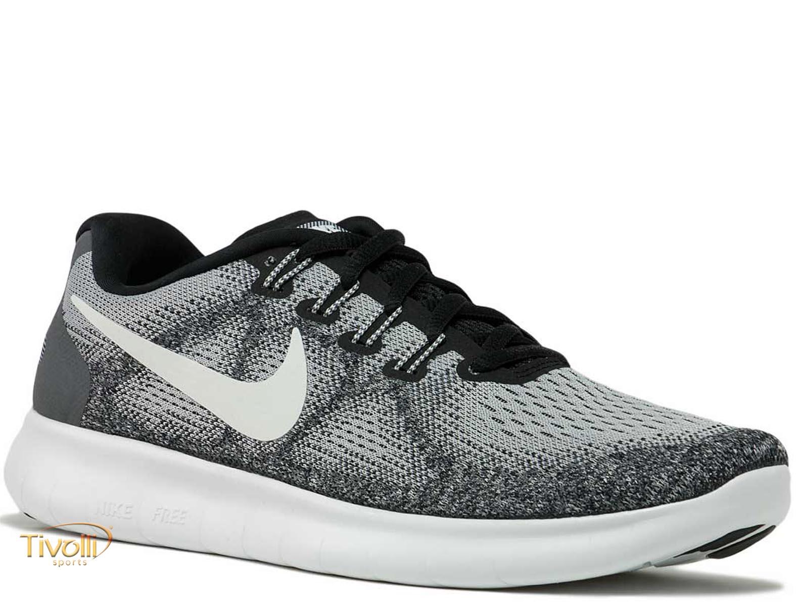 Raquete Mania   Tênis Nike Free RN 2017   Cinza 863948e0ea44c