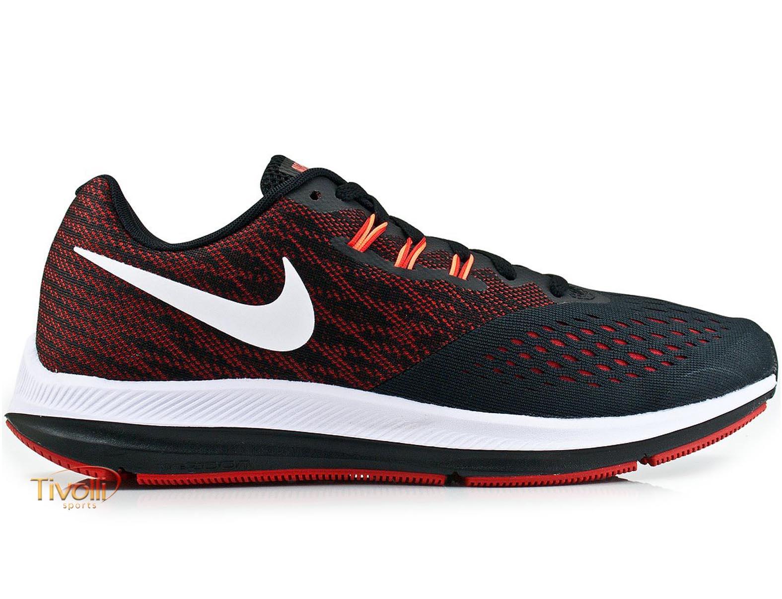 4a28457365e Raquete Mania   Tênis Nike Zoom Winflo 4   Preto