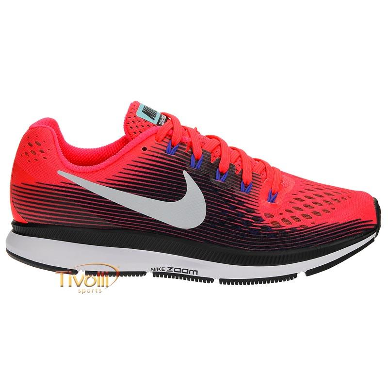 c880358fedab1 Raquete Mania   Tênis Nike Air Zoom Pegasus 34   Rosa