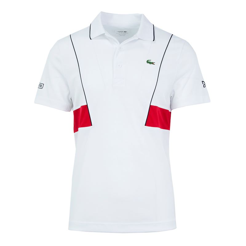 2f7776264e4 Raquete Mania   Camisa Polo Lacoste Sport   Novak Djokovic Collection