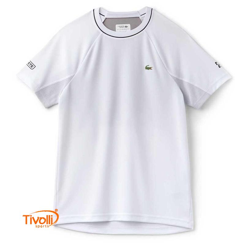 Raquete Mania   Camiseta Lacoste Sport   Novak Djokovic Collection ... 0297b408b7