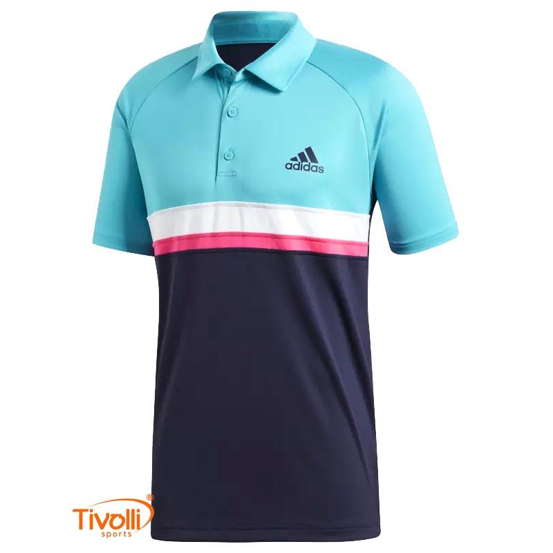 b32d6c6568152 Raquete Mania   Camisa Polo Adidas   Colorblock Club