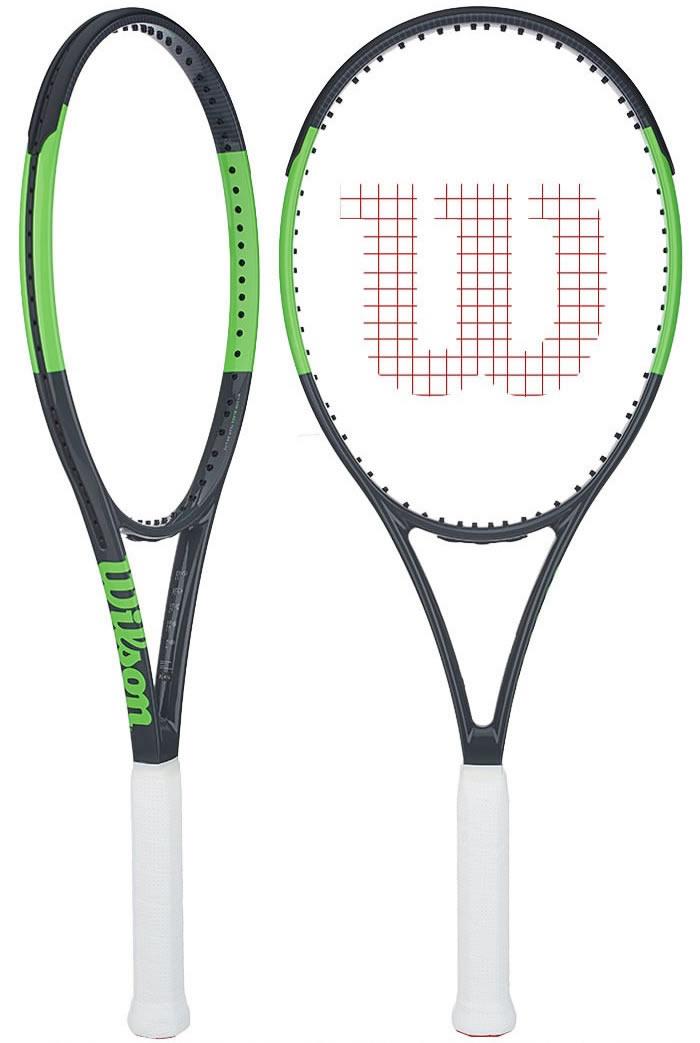 bf61de7c814 Raquete Mania   Raquete de Tênis Wilson   Blade Team 99 - Mega Saldão