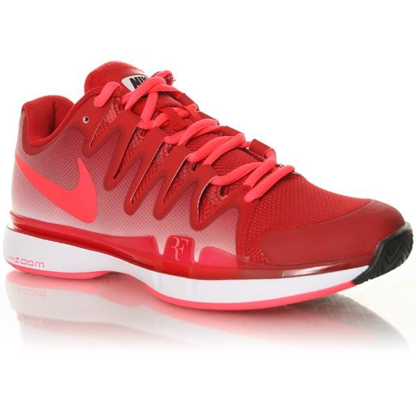 42a866395e5 Tênis Nike Zoom Vapor 9.5 Tour Roger Federer - Vermelho Salmão - 631458-661