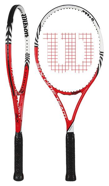 02758361dd3 Raquete Mania   MEGA PROMOÇÃO! Raquete de Tênis Wilson   BLX Six.One ...