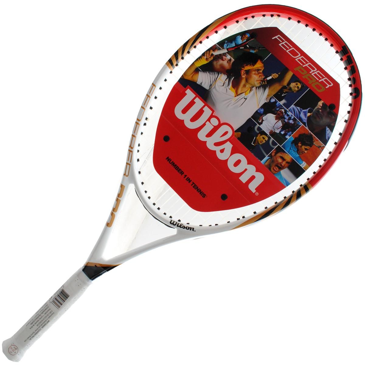 ff89669fe Raquete Mania   Raquete de Tênis Wilson   Federer Pro